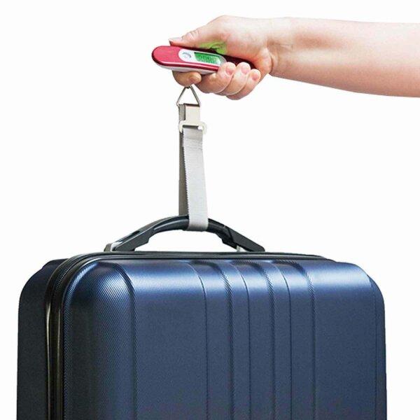 Digitale Kofferwaage Gepäckwaage LCD-Display Hängewaage  bis zu 50 kg