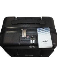 Valis Trolley Kabinen Handgepäck Business Koffer mit TSA-Schloss