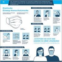 100 Mundschutz Atemschutzmasken Gesicht Hygienemaske OP...