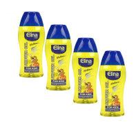 4 x 250 ml Dusch Gel Elina Wellness for Kids 2in1