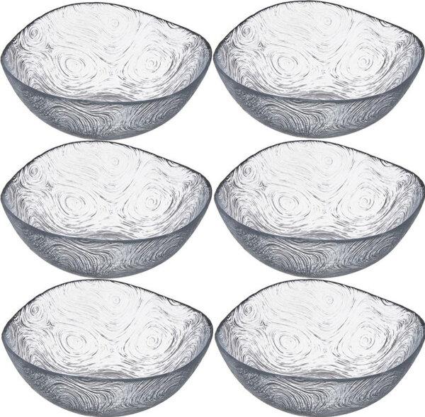 Pasabahce 6tlg Glasschalen Glasschale Dessertschale Vorspeise Schalen Serie Linden 310 cc