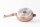 Mischler Cook Bratpfanne Ø24 cm Marmorbeschichtet mit Glasdeckel 2-teilig