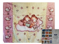 Kinderdecke Decke Kuscheldecke Babydecke - ca. 110x130 cm...