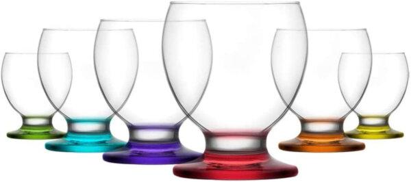 6x Saftgläser von LAV 280cc Gläserset Trinkgläser Trinkglas Wasserglas