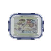 Glas-Frischhaltedosen aus Brosilicateglas mit Deckel