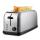 Edelstahl Toaster - 2 Schubladen, 4 Scheiben