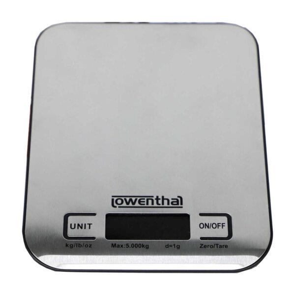 Digital-Batterienbetriebene Küchenwaage, aus Edelstahl