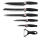 6 teiliges Messerset (5 Messer 1 Sparschäler)