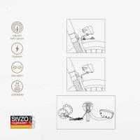 """LUXTRA Fahrrad Frontlicht für Nabendynamo 30 Lux """"RETRO"""""""