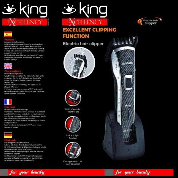 King Excellency Haarschneidemaschine Trimmer inkl. Zubehör