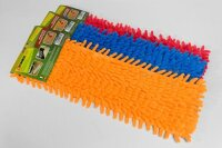 4 x Power-Line Mikrofaser Ersatzbezug für Bodenwischer
