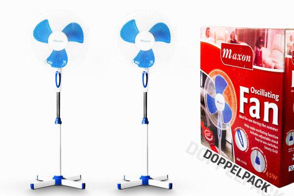 Standventilator Doppelpack 2in1 Maxon