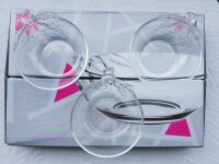 6er Set. Glasschale Pier Bowl Ø 12,5 cm Schale Kompottschale
