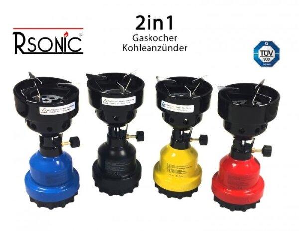 Rsonic 2in1 Shisha Kartuschen Gaskocher NEU